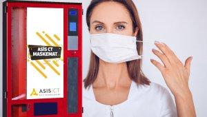 ASİS CT şehirlerde hızlı ve steril maske erişimini 'Maskemat' ile sağlayacak