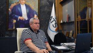 "ATSO Başkanı Davut Çetin: ""Moral bozup oturmanın kimseye bir faydası olmaz"""