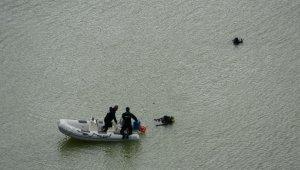 Baraj göletine düşen operatörün cesedi bulundu