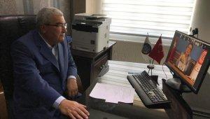 Başkan Saraç, Bakan Pekçan ile görüşüp esnaf ve sanatkarın sorunlarını aktardı