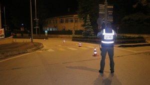 Bolu'da, ilk ceza ticari taksi sürücüsüne kesildi