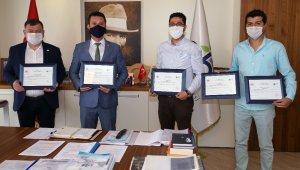 Çorlu Belediyesi sıfır atık belgesi aldı