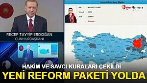 Cumhurbaşkanı Erdoğan canlı yayında açıkladı! Yeni reform paketi yolda...