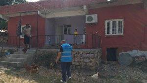 Depremde evi hasar gören vatandaşa devletin şefkatli eli uzatıldı