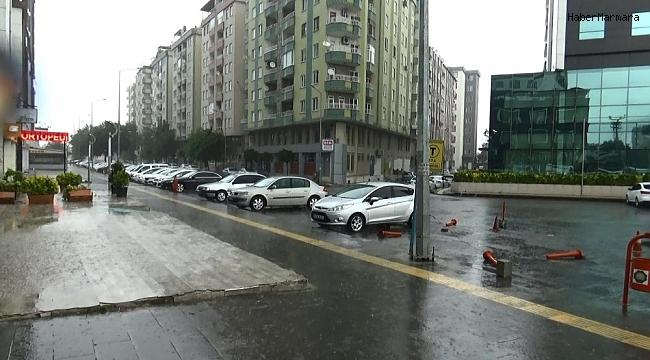 Diyarbakır'da şiddetli yağış