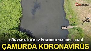 Dünyada ilk kez İstanbul'da incelendi: Çamurda koronavirüs!