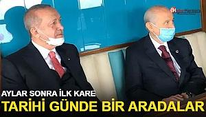 Erdoğan ve Bahçeli, Demokrasi ve Özgürlükler Adası'nda! Aylar sonra ilk kare
