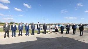 Fatma Şahin ve milletvekilleri İleri Biyolojik Atıksu Arıtma Tesisi'ni ziyaret etti