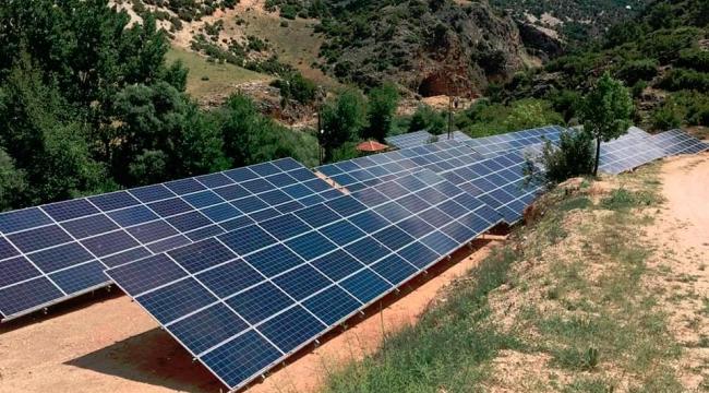 Güneş Enerjisi Santralı  Hizmete Girdi