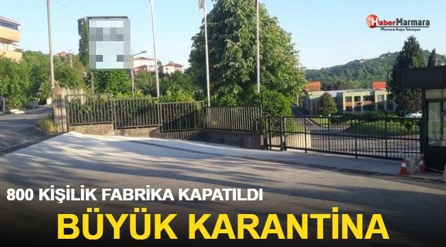 İplik fabrikasında 800 çalışan ve aileleri karantinaya alındı!