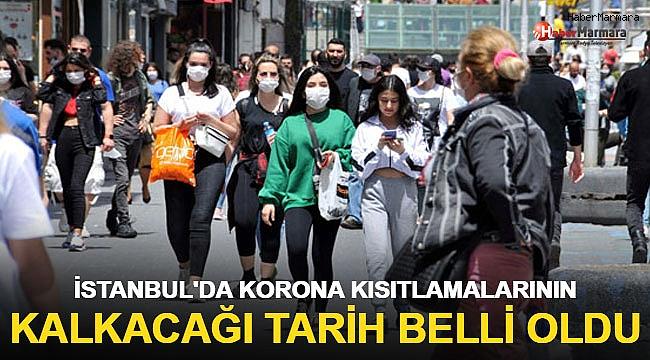 İstanbul'da coronavirüs kısıtlamalarının kalkacağı tarih belli oldu!