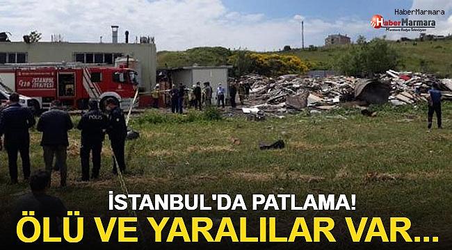 İstanbul'da patlama ölü ve yaralılar var