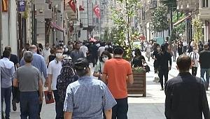 İstiklal Caddesi korkuttu! En kalabalık gün
