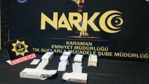 Karaman'da iki ayrı operasyonda gözaltına alınan 4 kişi adliyeye sevk edildi