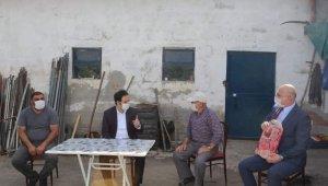 Kaymakam Ataman şehit yakınları ve gazilerin bayramını kutladı