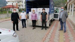 Kemer'de 6 bin gıda paketi dağıtıldı