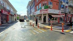 Kısıtlama sonrası cadde ve sokaklar temizlendi