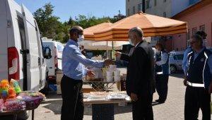 Korona virüsten dolayı kurulmayan pazar yeniden açıldı