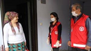 Kulp Vefa Sosyal Destek Grubu'ndan şehit ve gazi ailelerine bayram ziyareti