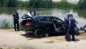 Mersin'de otomobil dereye yuvarlandı: 3 ölü