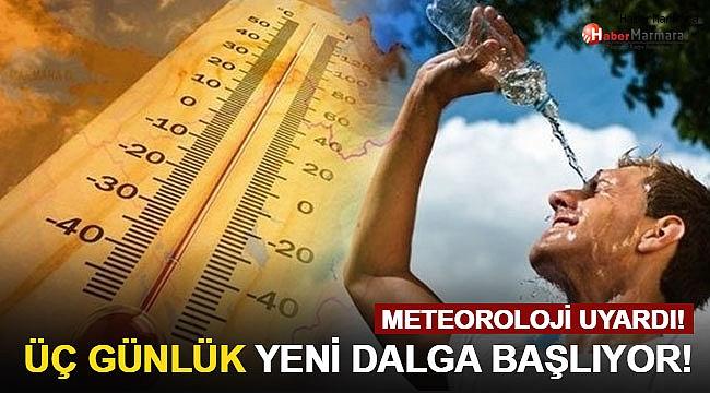 Meteoroloji Uyardı! Üç günlük yeni dalga başlıyor