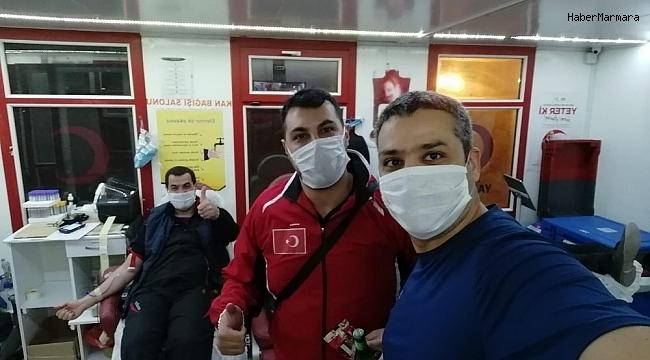 Murat Eskici'den kan bağışına destek veren personele teşekkür