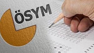 ÖSYM'den sınav tarihi açıklaması! Başvuru tarihleri güncellendi