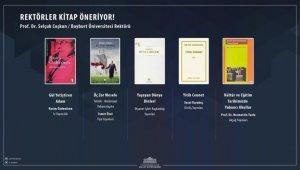 Rektör Coşkun'dan Cumhurbaşkanlığı Millet Kütüphanesine kitap tavsiyesi