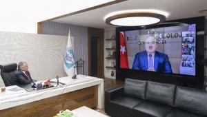 """Sanayi ve Teknoloji Bakanı Mustafa Varank ile """"Kayseri Zirvesi"""" yapıldı"""