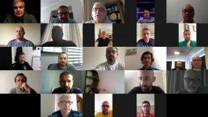 TFF Sağlık Kurulu, Süper Lig takım doktorları ile online toplantı yaptı