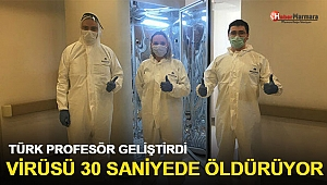 Türk Profesör geliştirdi Virüsü 30 saniyede öldürüyor