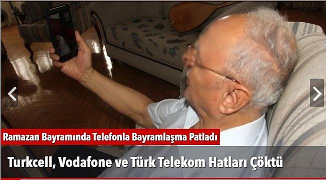 Turkcell, Vodafone ve Türk Telekom Hatları Çöktü