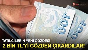 Türkiye'nin yeni tatil trendi: Günlük iki bin TL'yi gözden çıkardılar