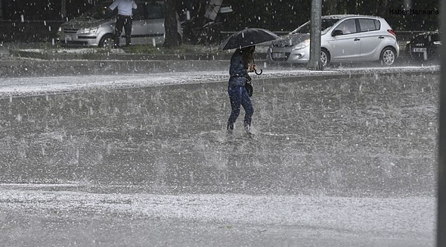 AKOM'dan son dakika yağış açıklaması
