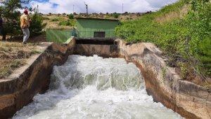 Alaşehir'de sulama sezonu başladı