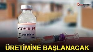 AstraZeneca Kovid -19 aşısının üretimine başlayacak