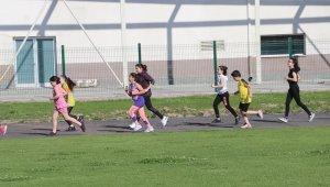 Atletizm sporcuları antrenmanlara başladı