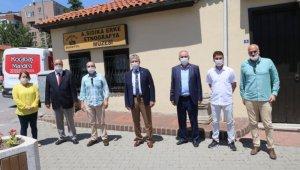 Başkan Arslan: Müzelerimiz ziyarete hazır