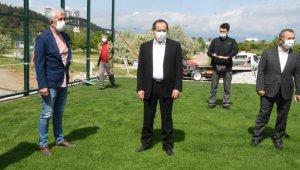 Başkan Demir, çalışmaları yerinde inceledi