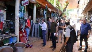 Başkan Kılınç, oturakçı pazarı esnafıyla bir araya geldi