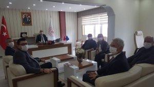 Bilecikspor'dan Gençlik ve Spor İl Müdürü Özdemir'e ziyaret