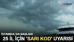 Bursa'yı İzmir'i vurdu! İstanbul'da da başladı