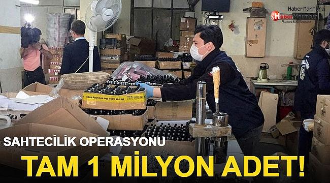 Dev operasyon! Tam 1 milyon adet