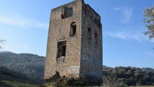 Donduran Kulesi'nde çalışmalar hızlandı