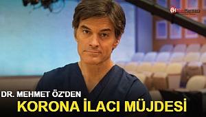 Dr. Mehmet Öz'den koronavirüse karşı ilaç müjdesi