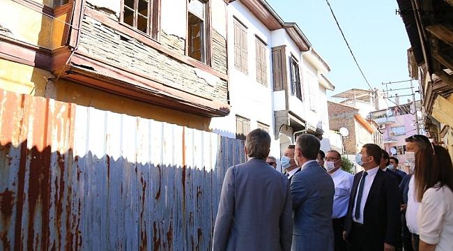 Edremit'te bu proje ile eski evler hayat bulacak