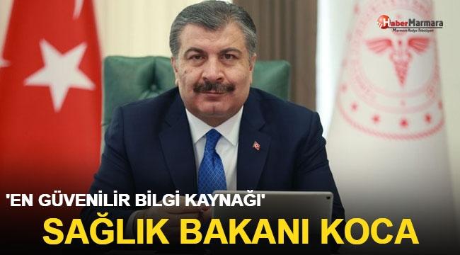 'En güvenilir bilgi kaynağı' Sağlık Bakanı Fahrettin Koca ilk sırada çıktı