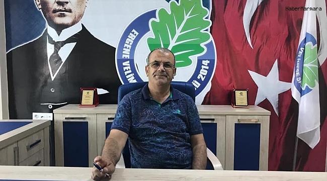 """Ergene Velimeşespor Başkanı Adem Memiş: """"2. Lig'deki ilk senemizi iyi bir yerde tamamlamak istiyoruz"""""""