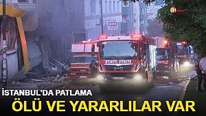 İstanbul'da bir binada patlama! Valilik acı haberi duyurdu