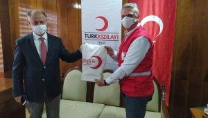 Kaymakam Çorumluoğlu Kızılay'a teşekkür etti